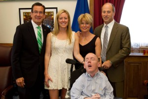 Ceremonial Bill Signing for ALD Screening with Governor Malloy in Hartford