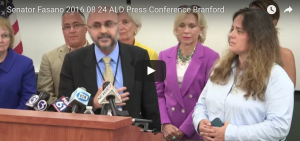 Press Conference on ALD Newborn Screening Success Held in Connecticut